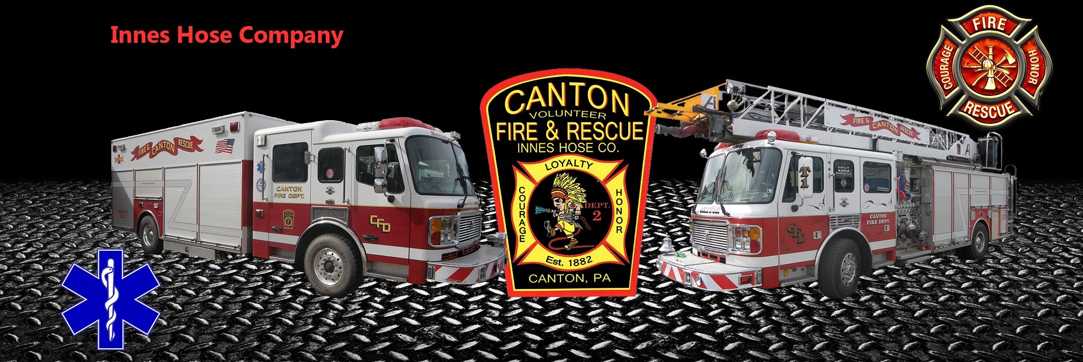 Canton Volunteer Fire Department / Innes Hose Company Inc. - Canton PA